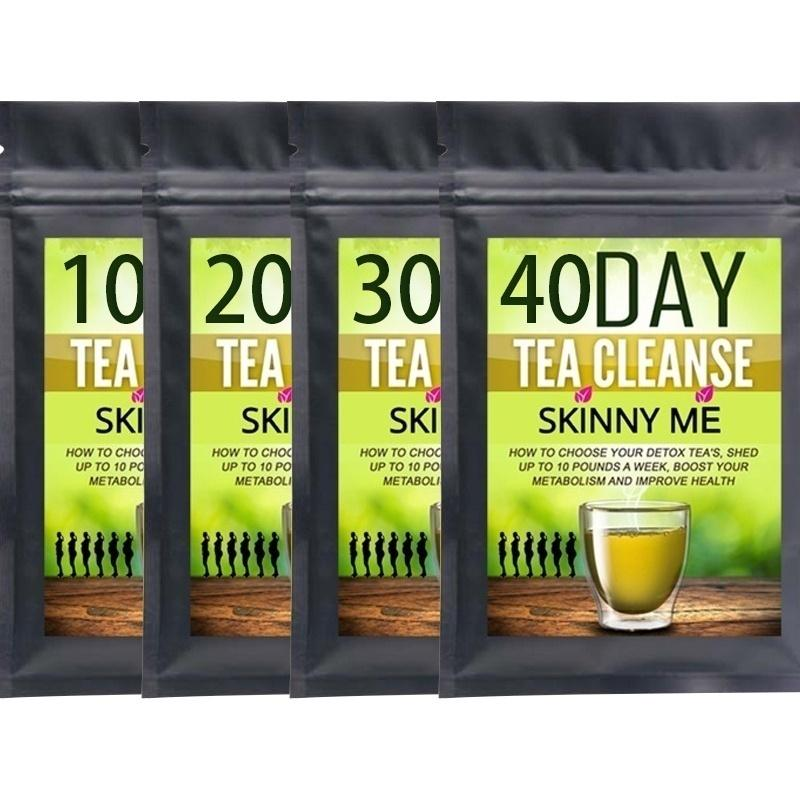 100% new quality natural detox beauty tea to reduce bloating and constipation 40Days