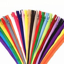 10 шт. 15-50 см(6-20 дюймов) нейлоновые катушки молнии портной канализации ремесло Crafter's& FGDQRS(20 цветов