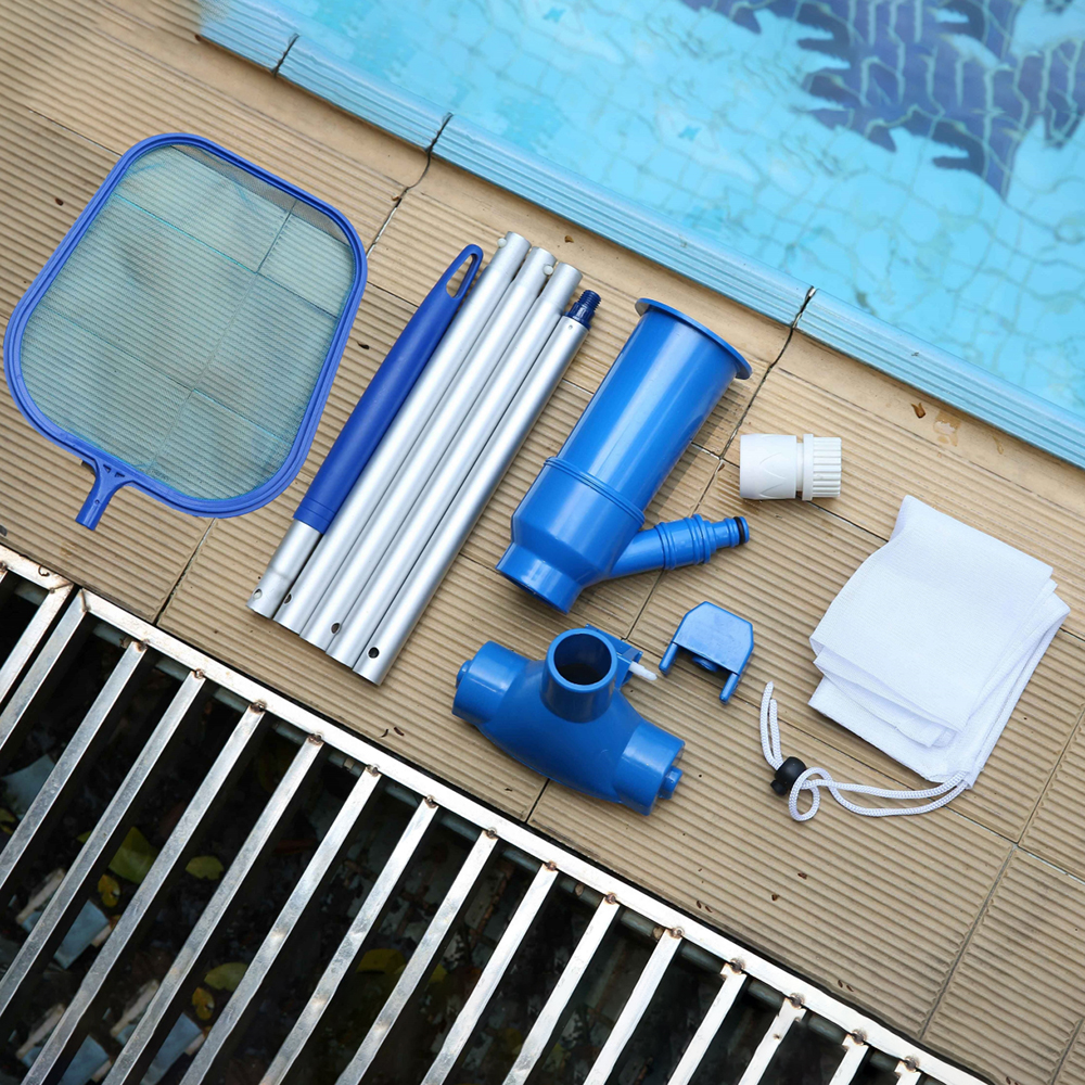 Pool Cleaning Kit Swimming Pool Maintenance Tool Suction Heads Cleaning Net Kit Durable Cleaning Tool Accessories(China)
