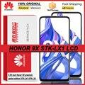 100% оригинал 6,59 ''ЖК дисплей с рамкой для Huawei Honor 9X STK-LX1 ЖК-дисплей с сенсорным экраном дигитайзер Honor 9X Премиум-глобальная версия
