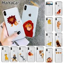 Maiyaca The Lion King Terbaik Silikon Tpu Ponsel Cover untuk Apple iPhone 11 Pro 8 7 66S Plus X XS MAX 5S SE XR Cover Ponsel(China)