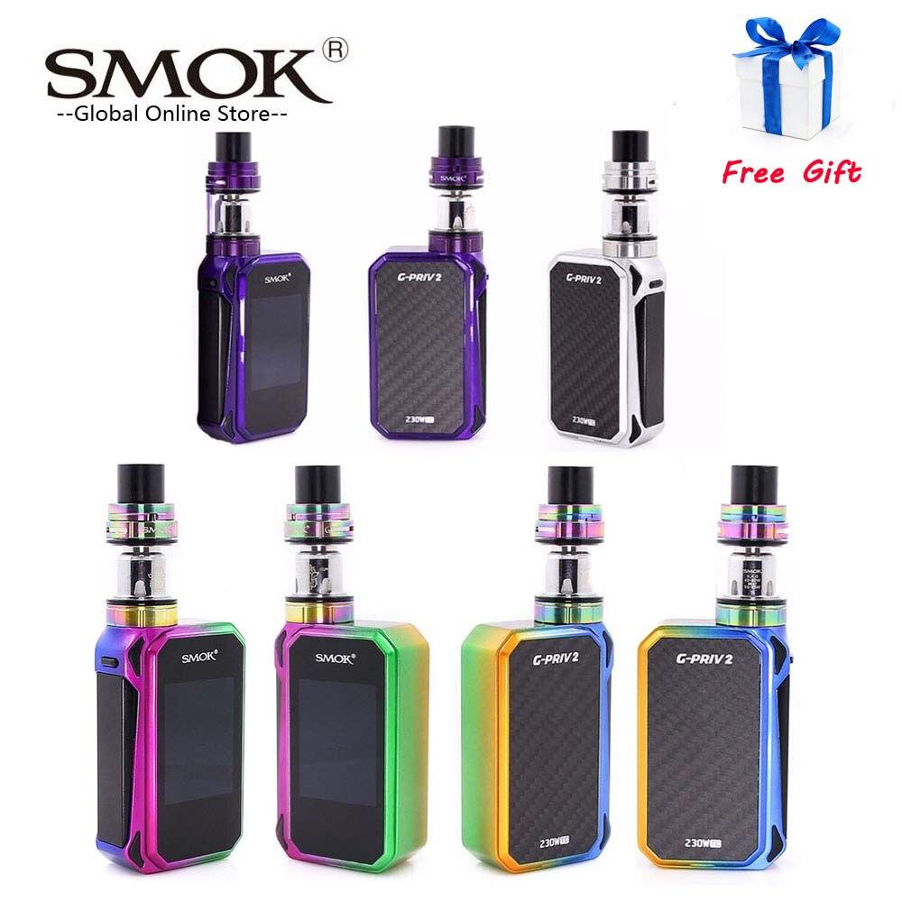 Kit de G-PRIV SMOK 2 d'origine avec réservoir TFV8 x-baby 230W G Kit de Cigarette électronique Priv 2 Mod VS Kit de G-PRIV SMOK Mag X Priv