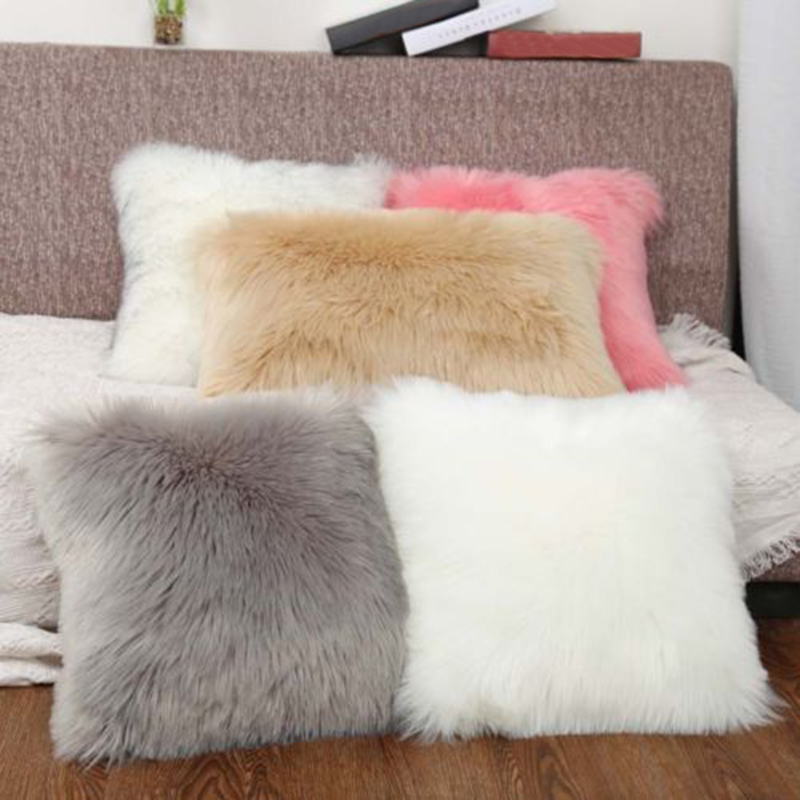 cushion cover only 40 40cm soft plush