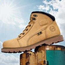 Botas de cuero de estilo vaquero para hombre, calzado informal de marca de lujo, para primavera
