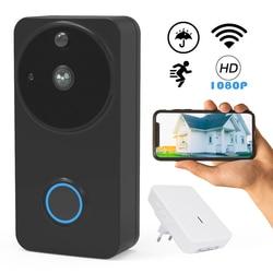 Ctvman wi fi telefone da porta de vídeo ip segurança intercom para casa vídeos digitais campainha da porta câmera áudio em dois sentidos inteligente sem fio campainha