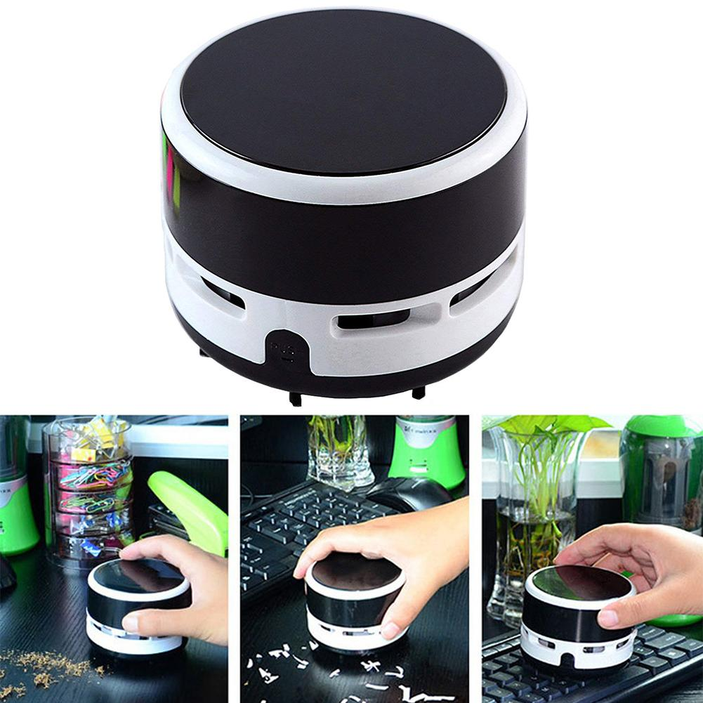 Portable Wireless Cylinder Mini Desk Dust Cleaner Home Table Sweeper Vacuum Computador Dust Cleaner пылесос для клавиатуры