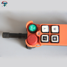 4 buttons UP + DOWN + EAST + WEST crane remote control universal radio crene remote control F21-4D industrial wireless radio 4 buttons double speed remote control f21 4d for hoist crane