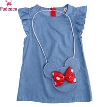 2-5 Year Toddler Kids Baby Girl Dress Sleeveless Minnie Mous