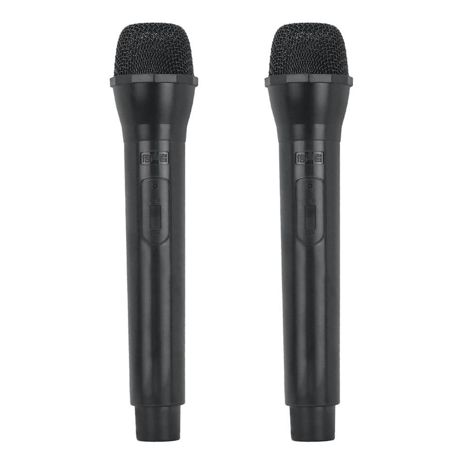 Microphone Prop Mic Costume Handheld Pop Singer Telemarketer Fake Accessory
