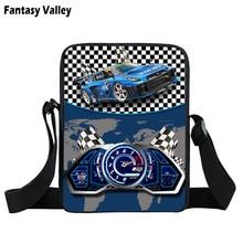 Messenger-Bag Hand-Bags Small Girls Black for Boys Steering-Wheel Male Cool Racing-Car