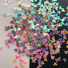 20g 4mm Mouse Head PVC loose Sequins Glitter Paillettes for Nail Art manicure/sewing/wedding decoration confetti wholesale