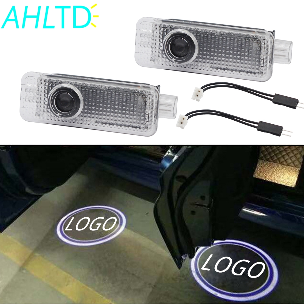 2X Auto Welcome Light Door Led Projection Lamp Laser For BMW E90 E91 E92 E93 M3 E60 E61