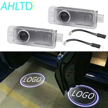 2X Car Welcome Light Door Logo Led Projection Lamp Laser For BMW E90 E91 E92 E93 M3 E60 E61 F10 F07 M5 E63 E64 F12 Buld DC 12V цена