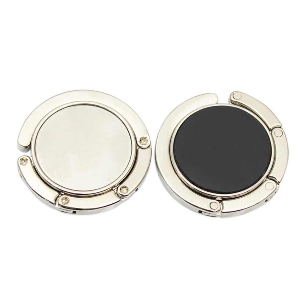 1 sztuk przenośny moda składane kryształowy, ze stopu, na torebkę torebka wieszak na torebkę uchwyt z hakiem do wieszaka na stół unikalne akcesoria do toreb