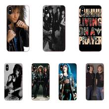 TPU Phone Skin Unique Bon Jovi For Samsung Galaxy Note 5 8 9 S3 S4 S5 S6 S7 S8 S9 S10 5G mini Edge Plus Lite(China)