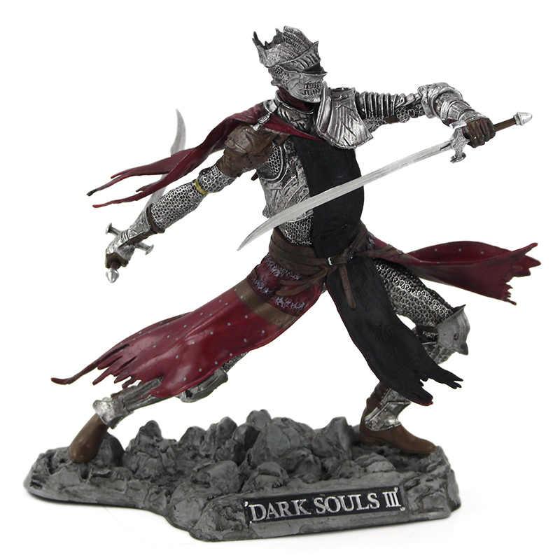 25cm oscuro almas 3 III Caballero rojo Artorias la caminante del abismo PVC figura de acción de colección modelo juguetes de la muñeca