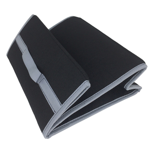 Image 5 - Buendeer 35x30x20 см органайзер для багажника автомобиля Складная войлочная сумка для хранения Нескользящая противопожарная автомобильная сумка для багажника для продуктов Органайзер серый/черный