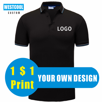 Summer Senior Business Short-sleeved POLO Shirt Custom Logo Men And Women Personalized  Design Embroidery Polo Shirts WESTCOOL
