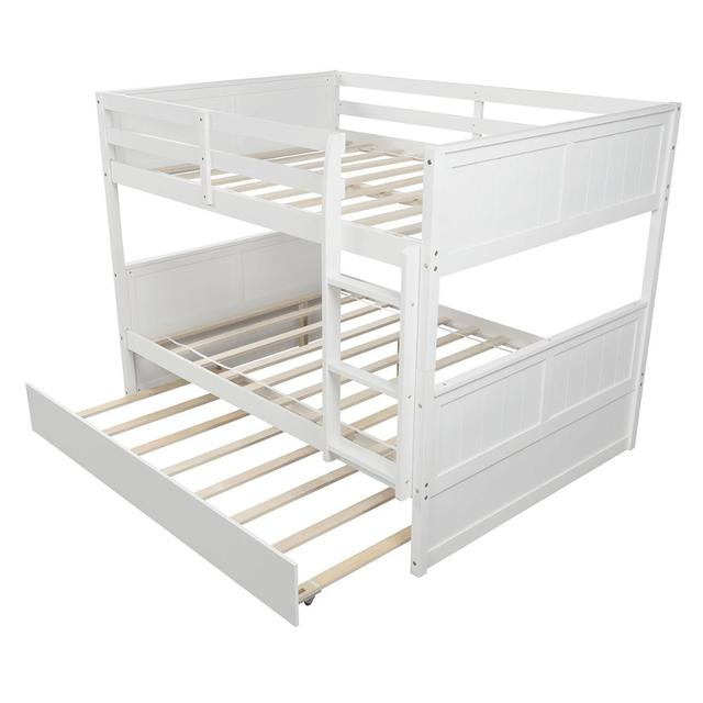 White Solid Pine Bunkbed 6
