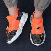 New baby shoes sneakers zapatillas kids shoes spring and autumn running shoes baby socks girls #8217 casual shoes boys sports shoes cheap ruimo Fits true to size take your normal size Mesh (Air mesh) Lace-Up PLAID Children Breathable Unisex