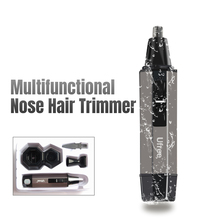 nose hair trimmer tondeuse neustrimmer Electric shaving For business men nose and ear hair clippers ear cleaner Removal SU114 недорого