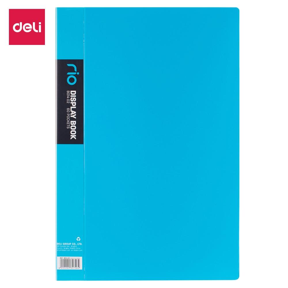 Deli Display Book Office File Folder Fashion Display Books FC A4 Size EB01102 E5032