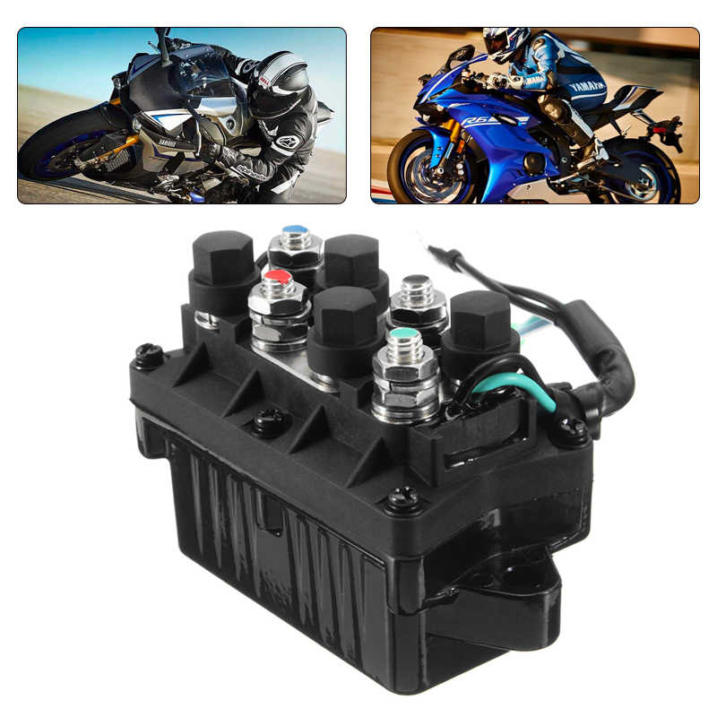 1 Pcs 2 Wire Plug 12V Power Trim & Relay For 40-225HP Yamaha 4 Stroke Outboard Engine Etc Repalce 63P-81950-00-00