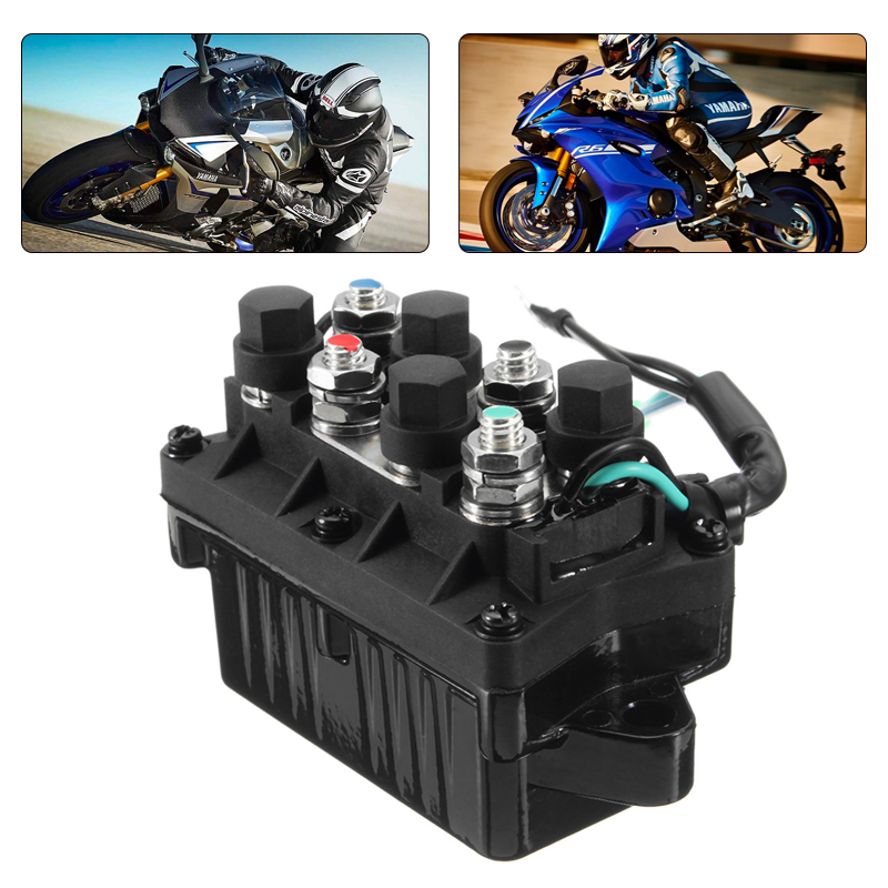 1 Pcs 2 Wire Plug 12V Power Trim & Relay For 40 225HP Yamaha 4 Stroke Outboard Engine Etc Repalce 63P 81950 00 00-in Boat Engine from Automobiles & Motorcycles