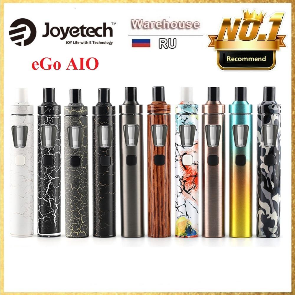 Original Joyetech EGo AIO Vape Kit 1500mAh EGO All-in-One  E-Cigarette Starter Evaporizer 0.6ohm Coil VS Ego AIO PRO