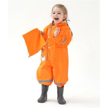 Kreskówka w zwierzęcym stylu płaszcz przeciwdeszczowy wodoodporny dziecięcy płaszczyk przeciwdeszczowy na płaszcz przeciwdeszczowy dla dzieci odzież przeciwdeszczowa płaszcz przeciwdeszczowy Student w zwierzęcym stylu płaszcz przeciwdeszczowy tanie i dobre opinie CN (pochodzenie) Dobrze pasuje do rozmiaru wybierz swój normalny rozmiar Kids Rian Overalls POLIESTER Sukno Elastyczny pas