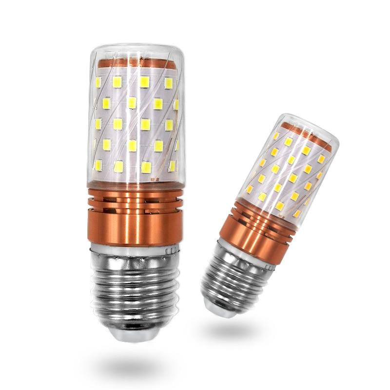E27 LED Lamp E14 LED Bulb 6W SMD2835 110V 220V Corn Bulb Chandelier Candle LED Light For Home Decoration Ampoule