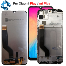 "100% Getest 5.84 ""Voor xiaomi Play lcd touch screen digitizer Vergadering voor xiaomi mi play vervanging mi spelen LCD digitizer"
