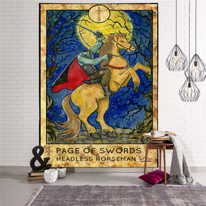 Image 5 - Mandala goblen duvar asılı büyücülük hippi plaj atmak halı ay seyahat Boho Bohemian sanat Psychedelic halılar ev dekor