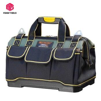 FGHGF sac à outils électricien outils menuiserie réparation de matériel Portable rangement organisateurs boîte travail clé Kitbag grande boîte à outils