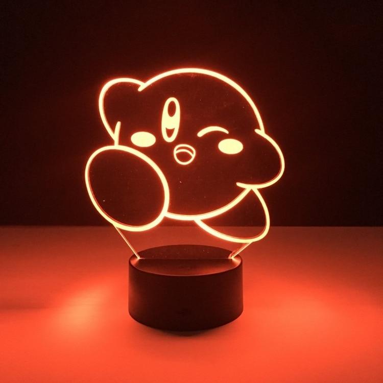 Kirby 3D LED Night Light