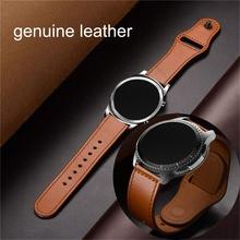 20mm 22mm huawei gt 2 pro magia do Samsung galaxy zegarek aktywny 42 46 47 huami amazfit GTR s Bip 40mm 44mm biegów sport S2 S3 zespół tanie tanio dalan 20 cm Skóra Nowy z metkami Watchbands