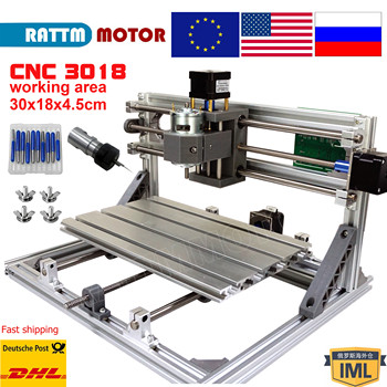 GRBL control CNC  Laser router mini machine 3018 3 Axis Pcb Pvc Woodworking engraving - discount item  12% OFF Woodworking Machinery