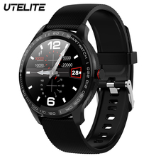 UTELITE L9 Men Smart Watch IP68 Waterproof ECG Heart Rate Blood Pressure Monitor Full Touch Screen Clock for Xiaomi Huawei Phone