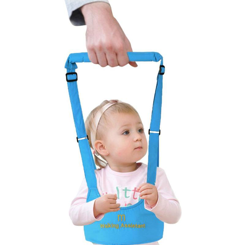 Infant Toddler Harness Walk Learning Assistant Adjustable Baby Walker Baby Harness for Kids Learning Walking Baby Safety Harness