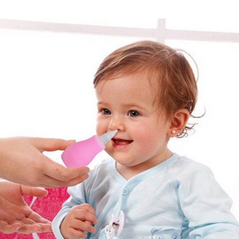 New Silicone Baby Children Nasal Aspirator Toddler Nose Cleaner Infant Snot Vacuum Sucker For Baby Product