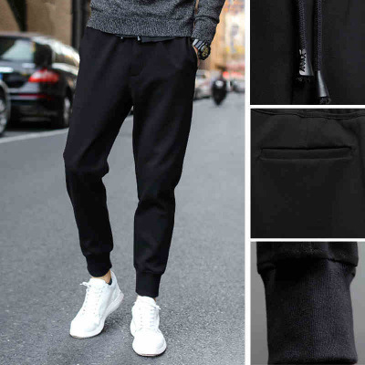 Spring Fat Harem Pants Plus-sized Menswear Teenager Casual Pants Skinny Athletic Pants Korean-style Sweatpants Fashion Man Pants
