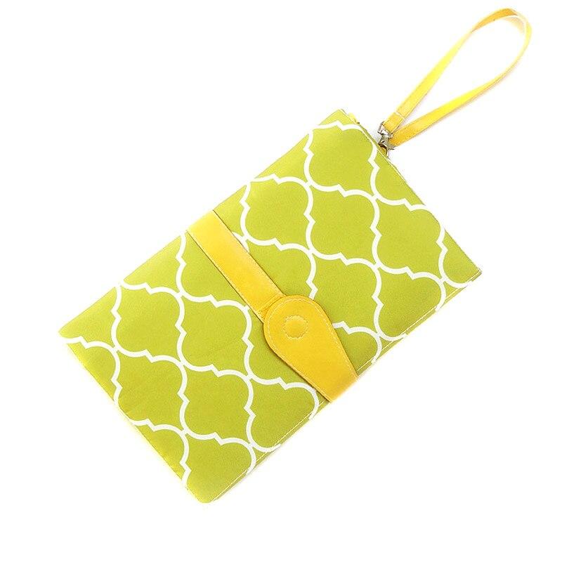 Portable Baby Folding Diaper Changing Pad Waterproof Mat Fancy Bag Travel Storage Hot Sales
