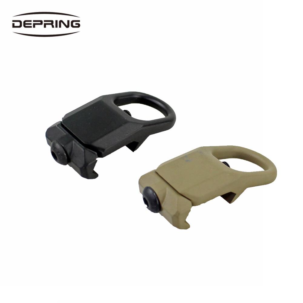 Quick Detach Sling Mount Plate Adapter Attachment Steel GBB Sling Mount Plate Adapterfor 20mm Picatinny Rail