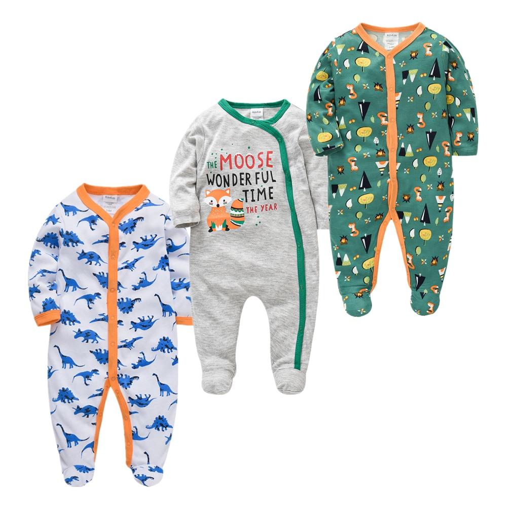 Baby Girl Boy Pijamas bebe fille Cotton Infant Baby Jumpsuit Onesies Breathable ropa bebe Newborn Sleepers Baby Pjiamas