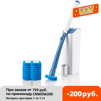 SDARISB jednorazowe wc szczotka do czyszczenia szczotka do wc uchwyt z systemem czyszczenia toaleta wc i kuchnia czyste tanie i dobre opinie CN (pochodzenie) Sponge brush Z tworzywa sztucznego