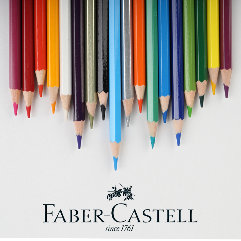 1Pc Faber-castell Classic Oil Color Pencil 60 Colour Optional Hand-painted Art Supplies Students Painting Sketch Bright Colors