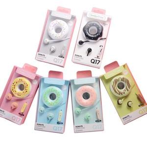 Image 5 - かわいいドーナツマカロンイヤホン3.5ミリメートルで、耳ステレオ有線イヤフォンイヤホンキッズ女の子のためMP3ギフトiphone xiaomi