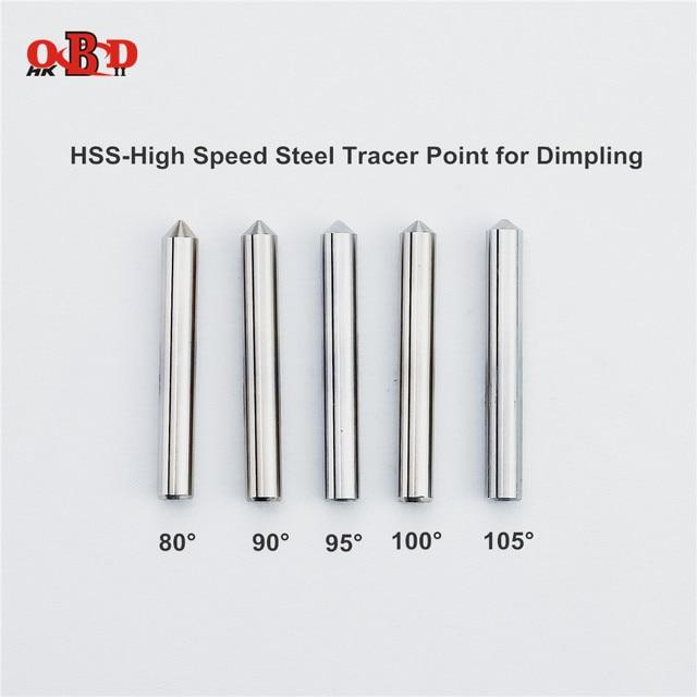 올리기 HSS 고속 강철 추적기 포인트 엔드 밀링 커터 수직 키 커팅 복사 기계 드릴 용 80/85/90/95/100/105 도