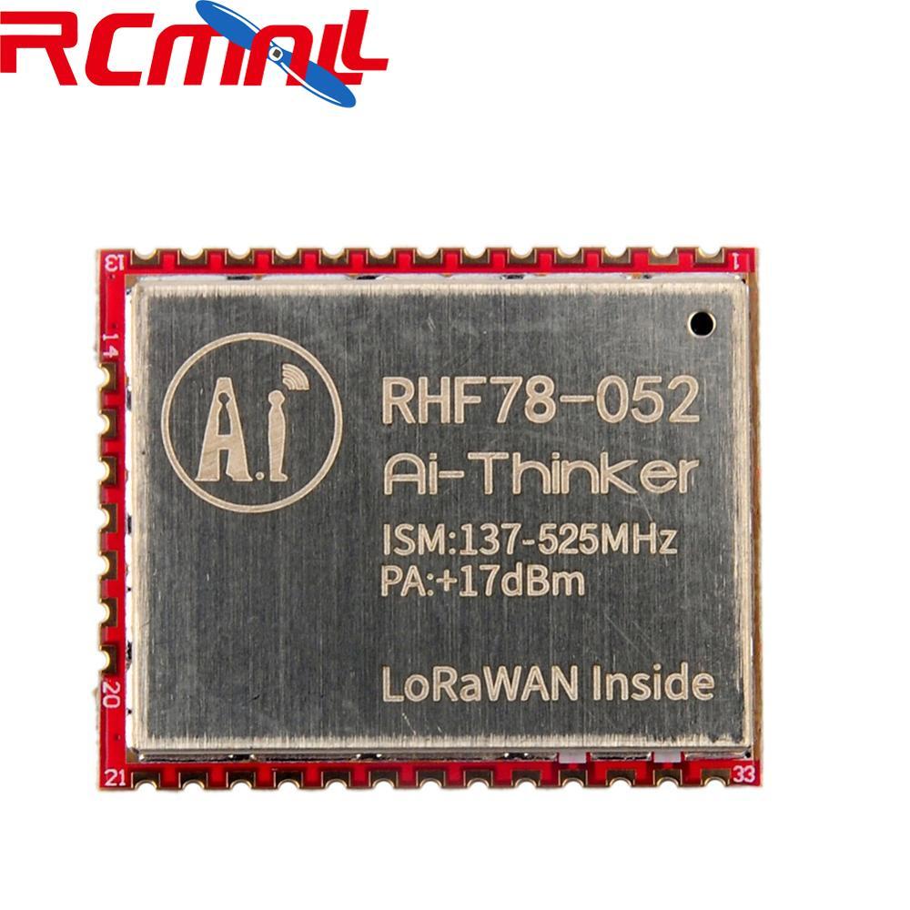 SX1278 HZRHF78-052 LoRa Module 433MHz 470MHz LoRaWAN Wifi Transceiver Module 15Km Long Range +17dBm FZ2854