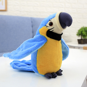 Talking Parrot Electric Plush